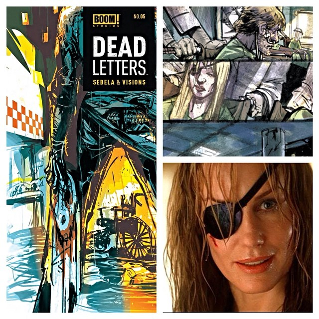 alandlesslatitude :     Woo woo woo— slow down. It's hump day and you need to treat yo'self! Issue 5 of #DeadLetters is out, and you have an Easter egg sitting on the first page!!   There's plenty more to enjoy in the trade as well, which is only $10.00!!! Seriously, you deserve it… ;)   Colors by @mattjbatt   #treatyoself #easteregg #killbill #quentintarantino