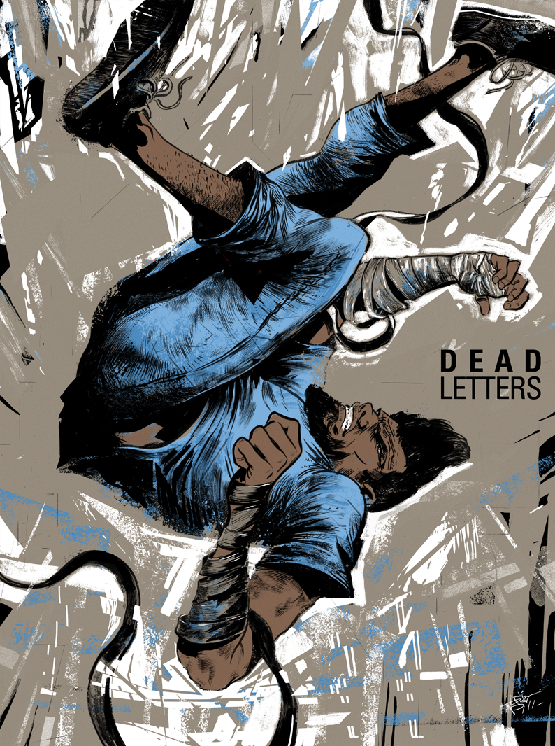 deadletterscomic :      ericscottpfeiffer :     Just wanted to congratulate my man Chris Visions on doing an excellent job with Dead Letters so I decided to throw this together for him and the writer Chris Sebela. Loving the series so far guys. Keep it up!     Daaaaaaaamn. Beautiful stuff, Eric.     This is so cool. It is never not exciting to see what people come up with.