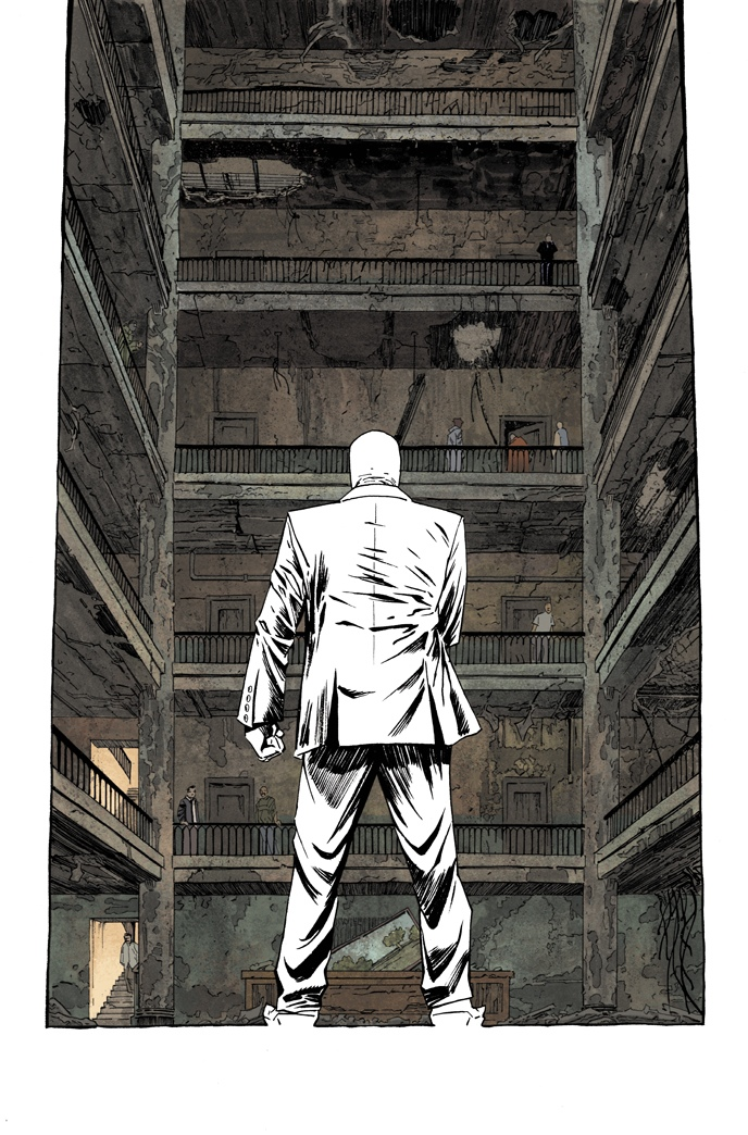 dshalv :     Page from #5 of MOON KNIGHT