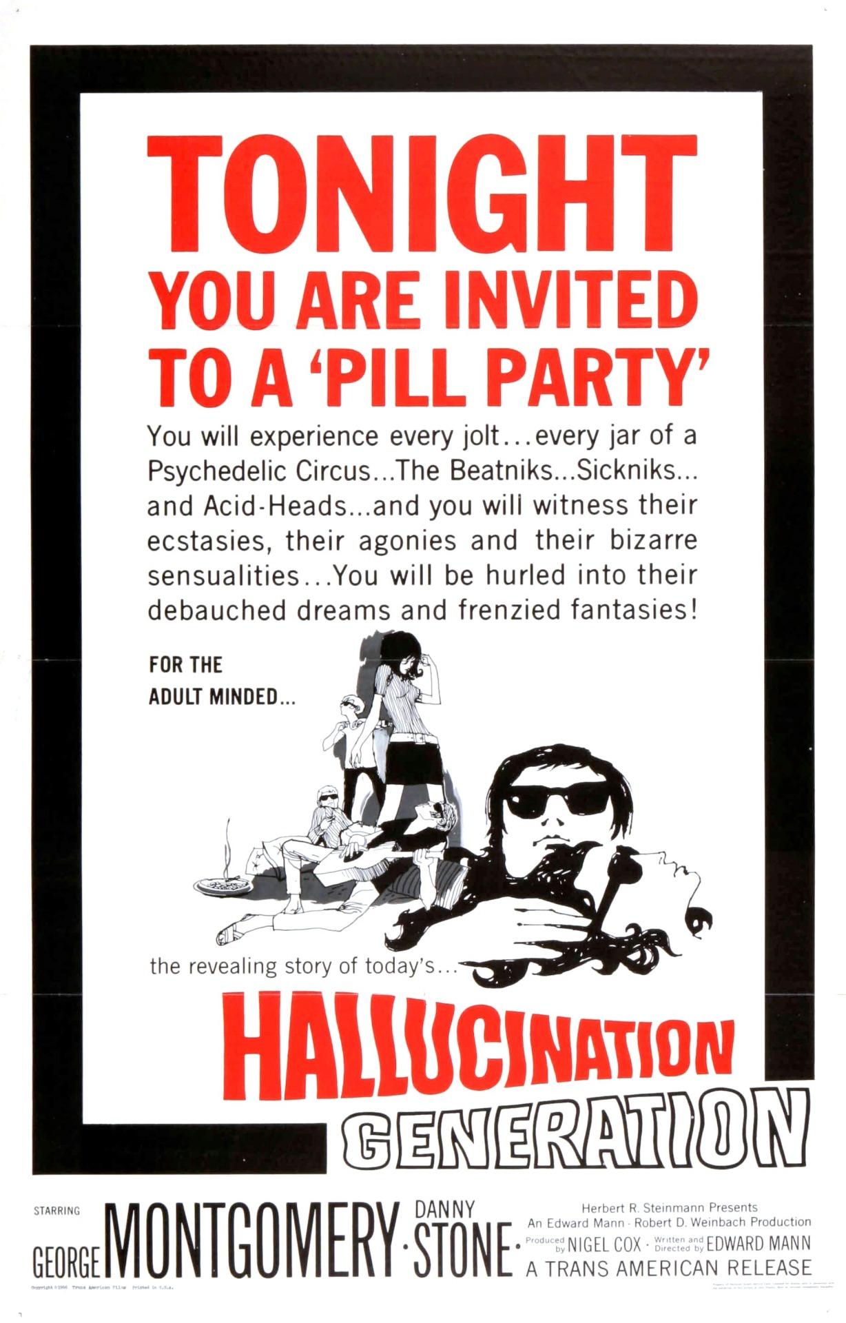 humanoidhistory :       Hallucination Generation   (1966)     Weekend plans
