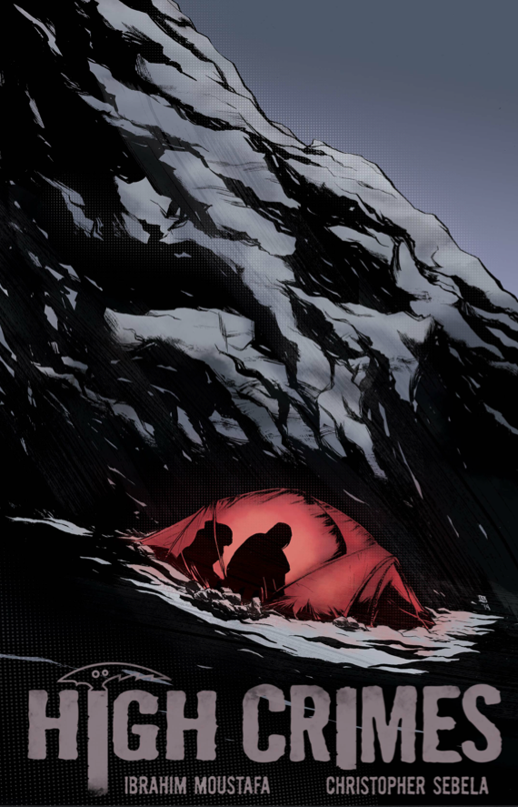 highcrimescomic :      Dug in at Camp 2, Zan Jensen has lied, killed and drugged her way to within 8,000 feet of Mount Everest's summit. As desolate weather sweeps across the mountain and Zan readies herself to face her dream and the dead body of Sullivan Mars buried beneath it, she finds herself isolated, paranoid, sick and surrounded by Strange Agents playing a game all their own.     HIGH CRIMES #7 -  pre-order/subscribe -  Available June 4th       And issue 1 is still available for free