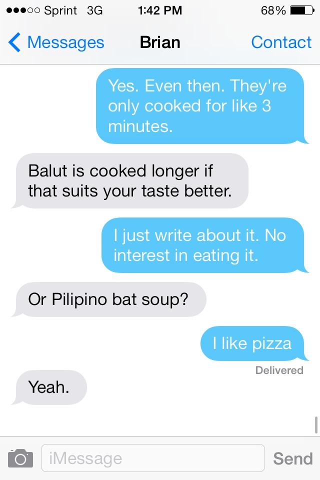 Foodies.