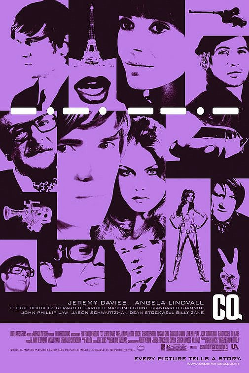 fuckyeahmovieposters :       CQ    Submitted by  Alt-Milk