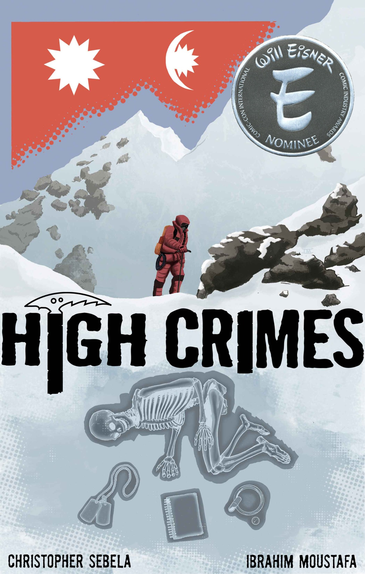 comixology: monkeybraincomics: We're delighted to announce that HIGH CRIMES has been nominated for TWO Eisner Awards this year, Best New Series and Best Digital/Webcomic. We couldn't be prouder of the work that Christopher Sebela and Ibrahim Moustafa have done on the series, and we think the nominations are richly deserved. HIGH CRIMES is just plain awesome, y'all. It's not quite like anything else out there, in the best way possible. But you don't have to take OUR word for it. Throughout the voting period, we're making the first issue available for free on ComiXogy. If you haven't yet checked out HIGH CRIMES, go read the first issue and see what all the fuss is about. And when you're finished reading that one, issues 2 through 6 are still on sale for the low, low price of 99 cents per issue! And if you HAVE already read the series, then go tell all of your friends to check it out. Otherwise, what kind of friend are you? Seriously. Confetti and Unicorns! <3 Us The first ever (but definitely not the last) Digital Comic to get a nod for Best New Series from the Eisners! #bigdeal Congrats to christophersebela, ibrahimmoustafa, monkeybraincomics, and everyone on the highcrimescomic team! Go read High Crimes! It's Free!!