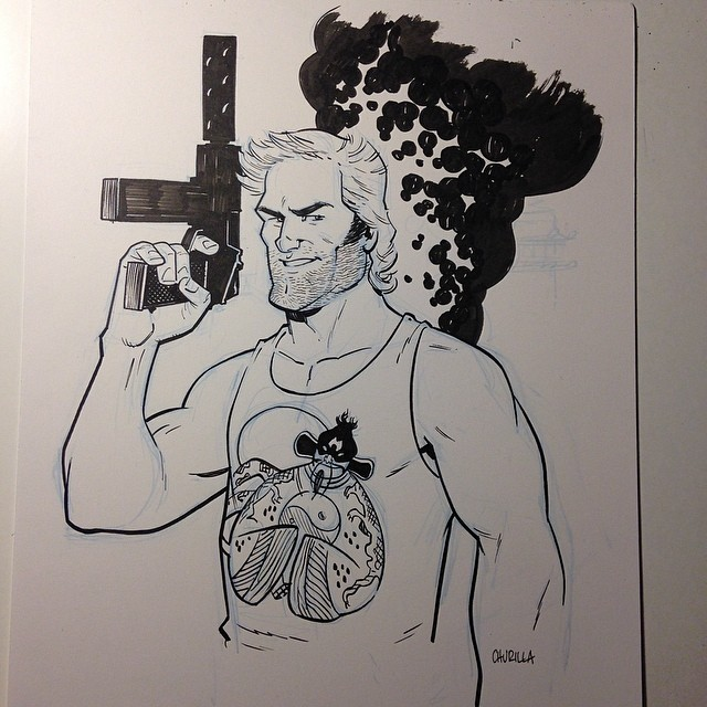 brianchurilla: Finished Jack Burton commission #ECCC preorder