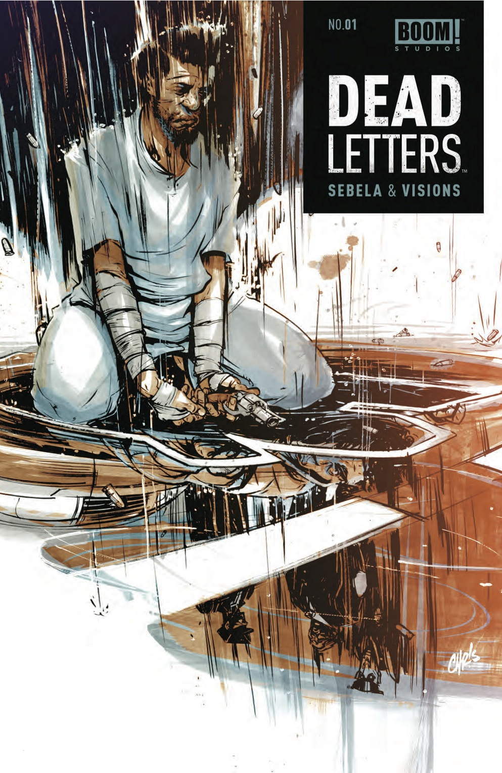 mattfractionblog :     DEAD LETTERS. Sebela, Visions, BOOM!, drops APRIL 2nd.   First issues are tough. good first issues are murder, are rare, are wonderful, and should be shouted about from the rooftops.   DEAD LETTERS #1 is a GREAT first issue. And the hook on its first page is only surpassed by the hook on its last page.   BOOM! might just have the next PREACHER on its hands.   Even better, they have the first DEAD LETTERS on their hands. So to get it in YOURS, call your store, tell 'em to get it for you. FOC is today.     Once more with feeling. Today's the last day to order your copy. I'm just gonna go lay down.