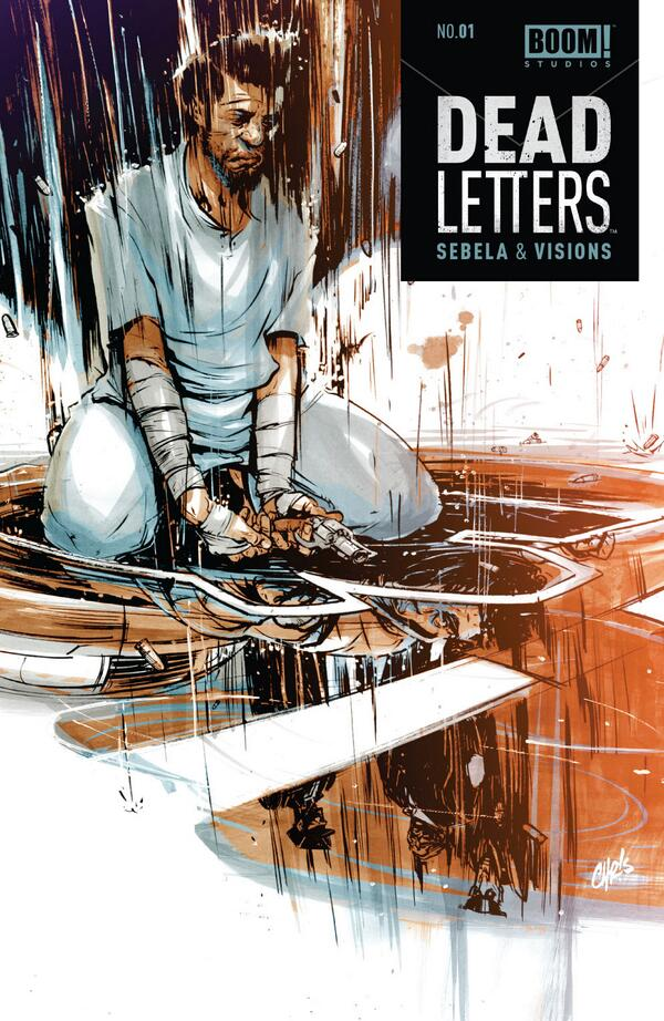 deadletterscomic :     and here's our final cover, with actual logo and everything, how can you say no to such a pretty face?