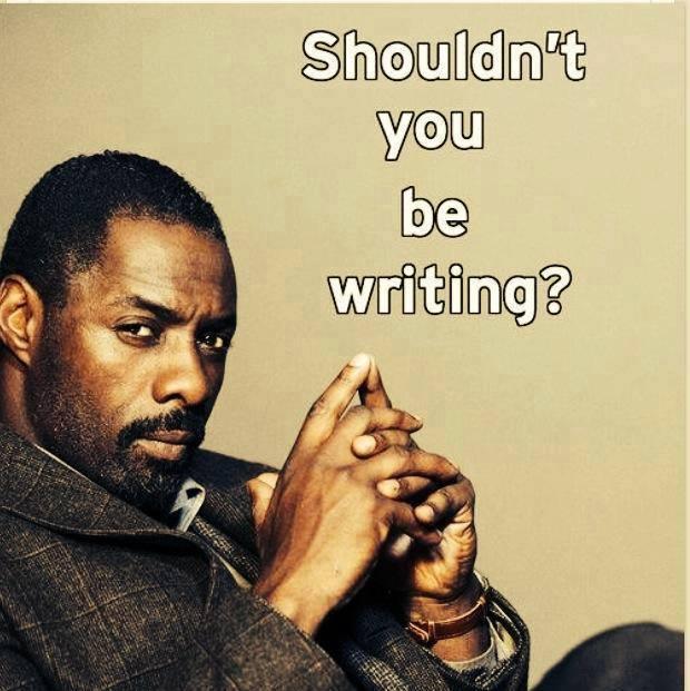 kadrey :     Let Idris be your conscience.
