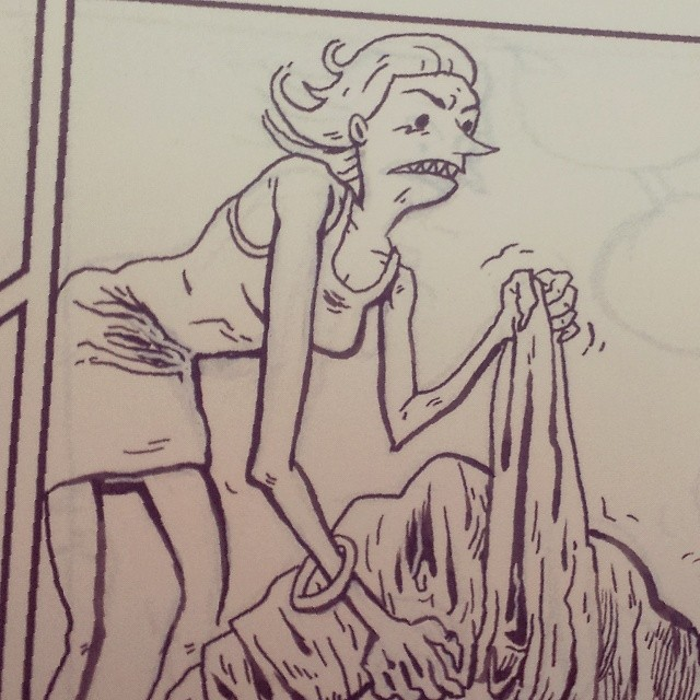 ghostattack :     Detail of 13/13 inks