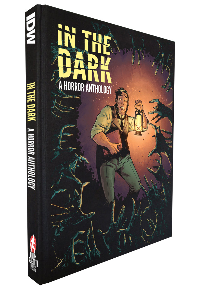 I'm part of IN THE DARK, a new horror anthology currently being Kickstartered as we speak. Somehow I snuck into a pretty stellar lineup of talent onboard: Writers! Marguerite Bennett, Ed Brisson, Cullen Bunn, Valerie D'Orazio, Rachel Deering, Justin Jordan, Brian Keene, Jody LeHeup, Michael Moreci & Steve Seeley, Mike Oliveri, Christopher Sebela, Tim Seeley, Matthew Dow Smith, Nate Southard, Duane Swierczynski, Tom Taylor, Paul Tobin, James Tynion IV, Sean E. Williams, F. Paul Wilson Artists! Andy Belander, Thomas Boatwright, Garry Brown, Mack Chater, David James Cole, Christian Dibari, Eryk Donovan, Tadd Galusha, Mike Henderson, Douglas Holgate, Marc Laming, Brian Level, Christopher Mooneyham, Tradd Moore, Drew Moss, Patric Reynolds, Alison Sampson, Jonathan Brandon Sawyer, Dalibor Talajic, Christian Wildgoose The book has already passed the halfway mark in just the first two days, with an eye towards wrapping up the campaign by Halloween. If you like horror, or me, or me and any one of the immensely talented people on this book or you hate me and love everyone else, whatever, securing yourself a digital copy is only $10 for a 250 page anthology. $50 for an oversized book version. Go get yours.
