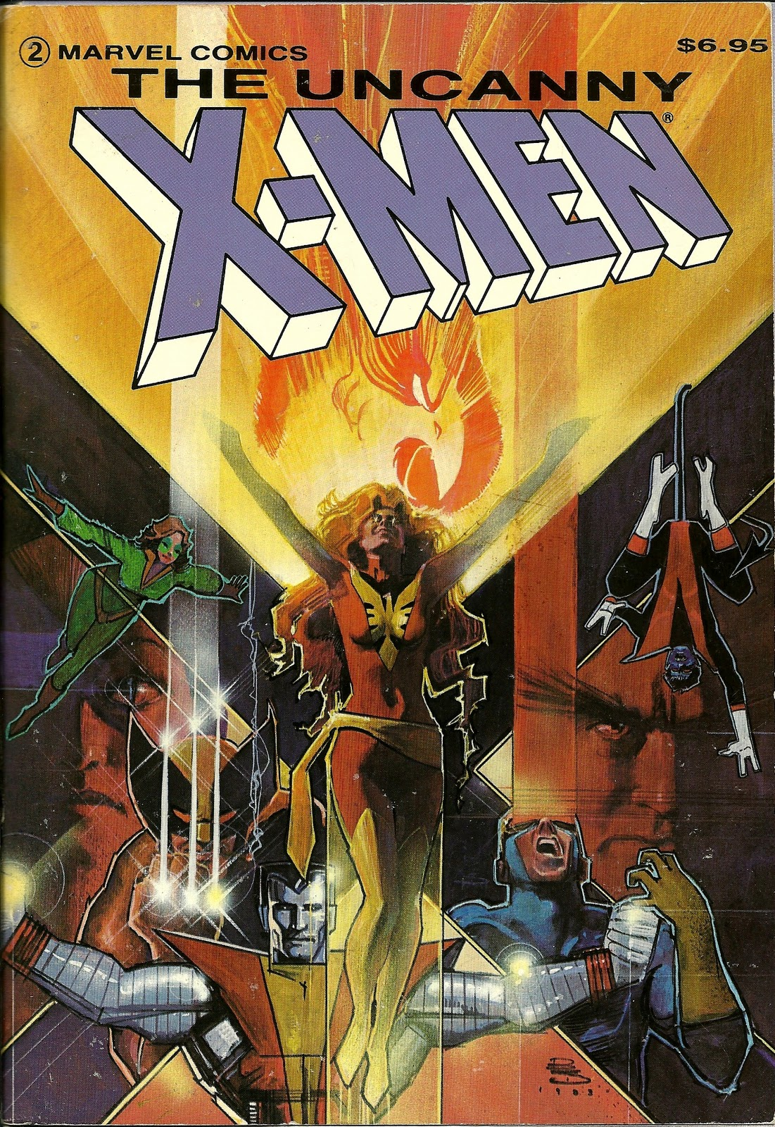 samhumphries :      brianmichaelbendis :       Uncanny X-men by Bill Sienkiewicz , 1984      My first ever trade paperback. I had been reading Silvestri-era X-Men and this story was completely new to me.  I read it all in a day.    I still have the book.   It still bugs me that Colossus is placed asymmetrically.      Heyyyy, my first ever trade paperback too. Still have it in a box somewhere, will probably never read it again to preserve my previous affection for it. Everything in here felt SUPER ADULT when I got it.