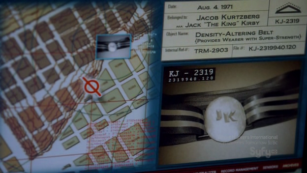 "Jack ""The King"" Kirby's Density Altering Belt  from WAREHOUSE 13"