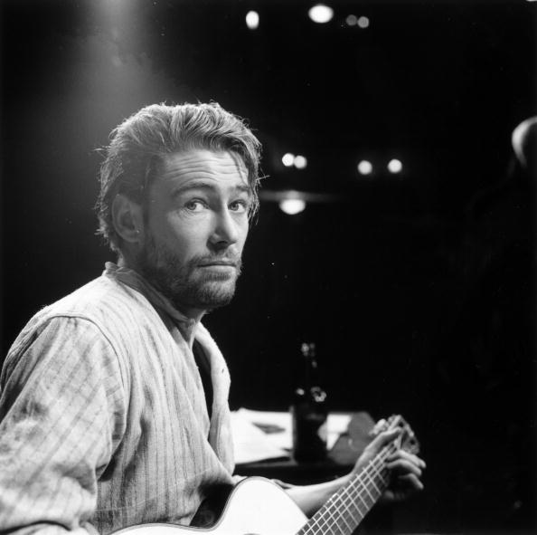 themoviola :     Peter O'Toole on stage in the play 'Baal', Febraury 1963. (Photo by Asher/Express/Getty Images)