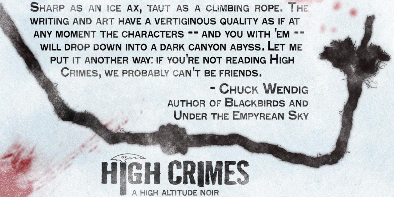 highcrimescomic :      High Crimes No. 4  - July 31st      Previously