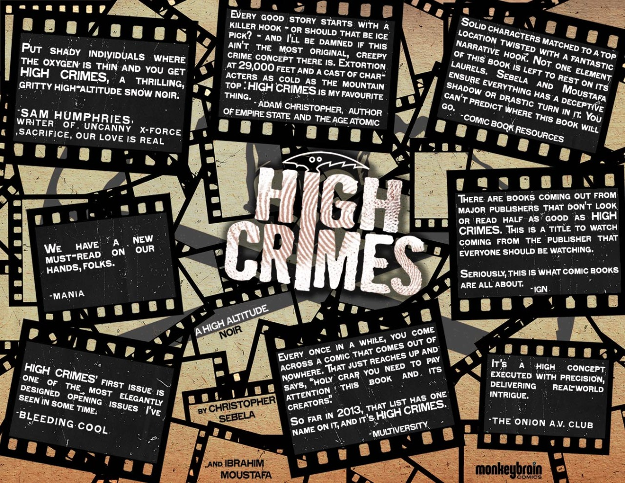 highcrimescomic :      2 Days      So I figured out this afternoon that I've forgotten how numbers work. Or dates. Or some weird coalescing of the two. Somehow saying 2 days made sense when I posted it. I'm a dummy.   Anyhow, High Crimes #3 is out tomorrow. Still time to catch up  here .