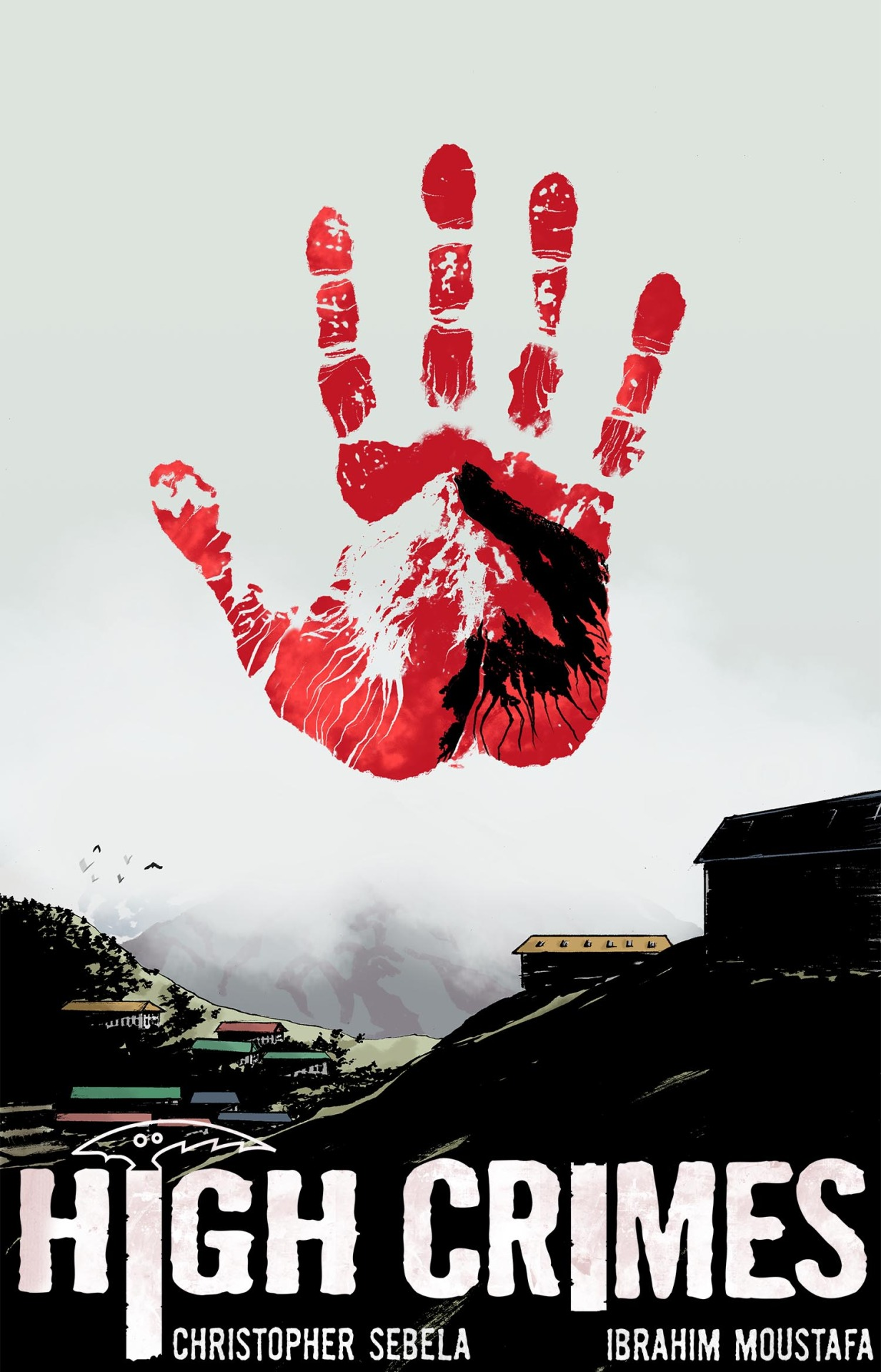 highcrimescomic :     Cover for HIGH CRIMES #3, coming out May 15th.      It's real and it's coming soon.