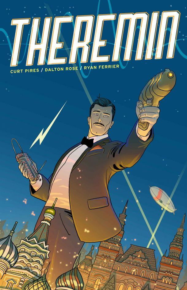 edbrisson: rferrier: THEREMIN #1 is now available for pre-order through Comixology! Read the preview over at IGN. Check it out everyone, Curt Pires (writer, LP) and Dalton Rose (artist, Sacrifice) have a new comic coming out through the fantastic Monkeybrain, and the first issue is now available to pre-order. I'm very fortunate to be the letterer on this book, but I say without bias that this series is absolutely amazing. It's not only genius and unique and inventive and fresh and exciting, but it's got everything-guns, lasers, time travel, secret agent spy stuff, musical instruments, political figures, and more. Please, please, please, let me, let me, let me get what I want and pre-order this comic and its subsequent issues. And while you're at it, explore the other fantastic titles Monkeybrain has to offer (including Dalton's PHABULA, Michael Moreci's SKYBREAKER, and Chris Sebela's HIGH CRIMES). Live this comic. I got a chance to read the first issue already and I will stand up and vouch for this book being effing sweet. If you like obscure musical instruments and reality-hopping assassins, well, THEREMIN slaps them together like peanut butter, chocolate and blood (you can leave the blood out if you're somehow above eating it…elitist).