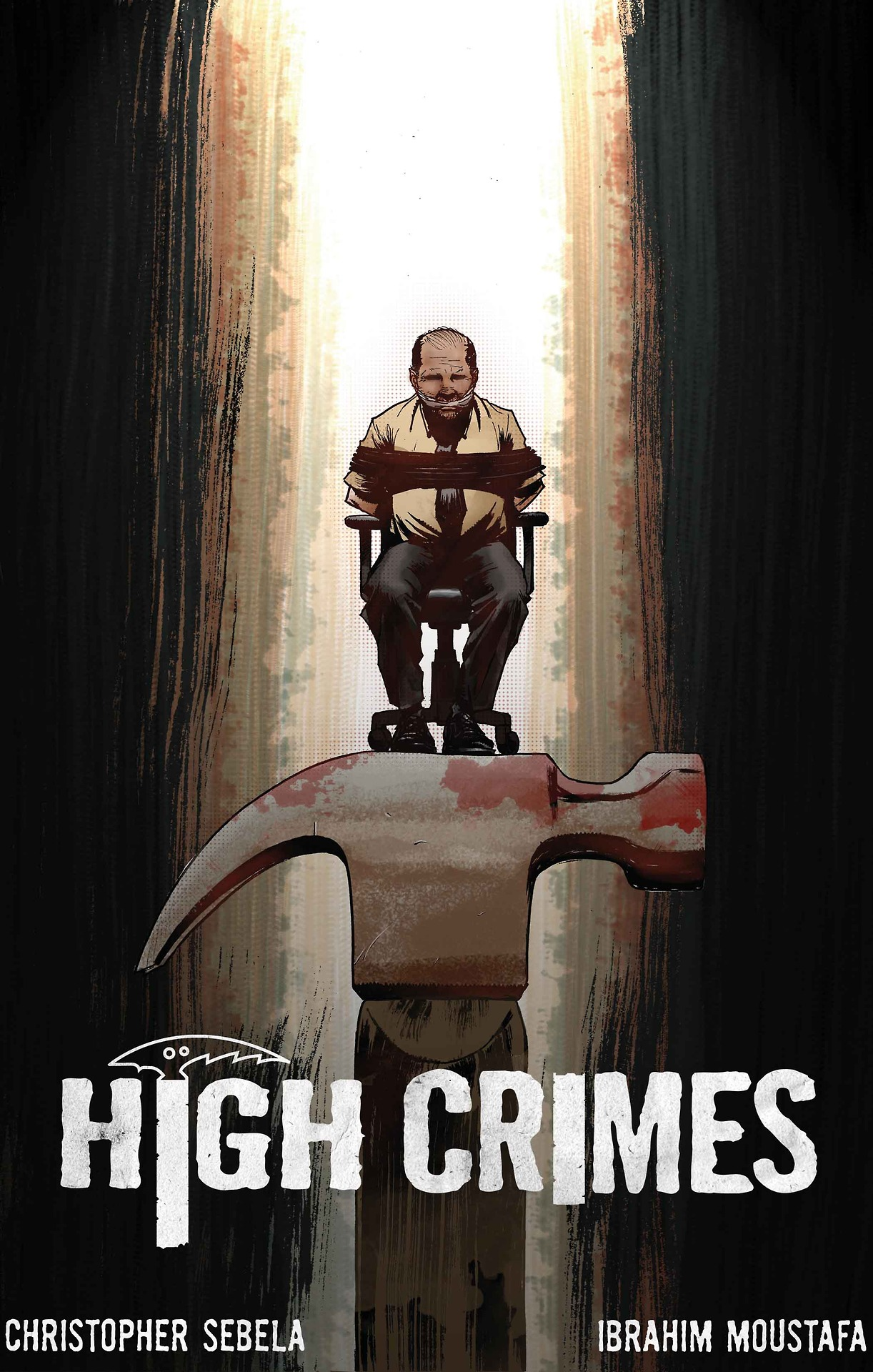 HIGH CRIMES #2 - Out  Tomorrow Wednesday! (I don't know what day it is)