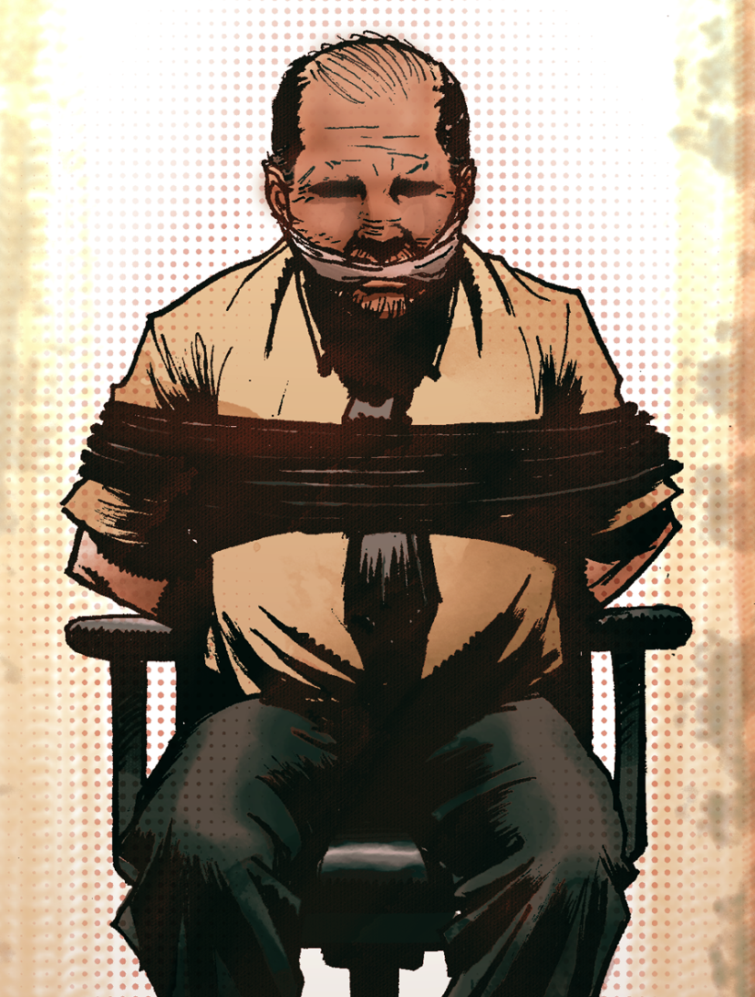 highcrimescomic :     Detail sneak peek of the cover for High Crimes #2.   New issue out this Wednesday, February 27th from Monkeybrain on  Comixology .     Excited.