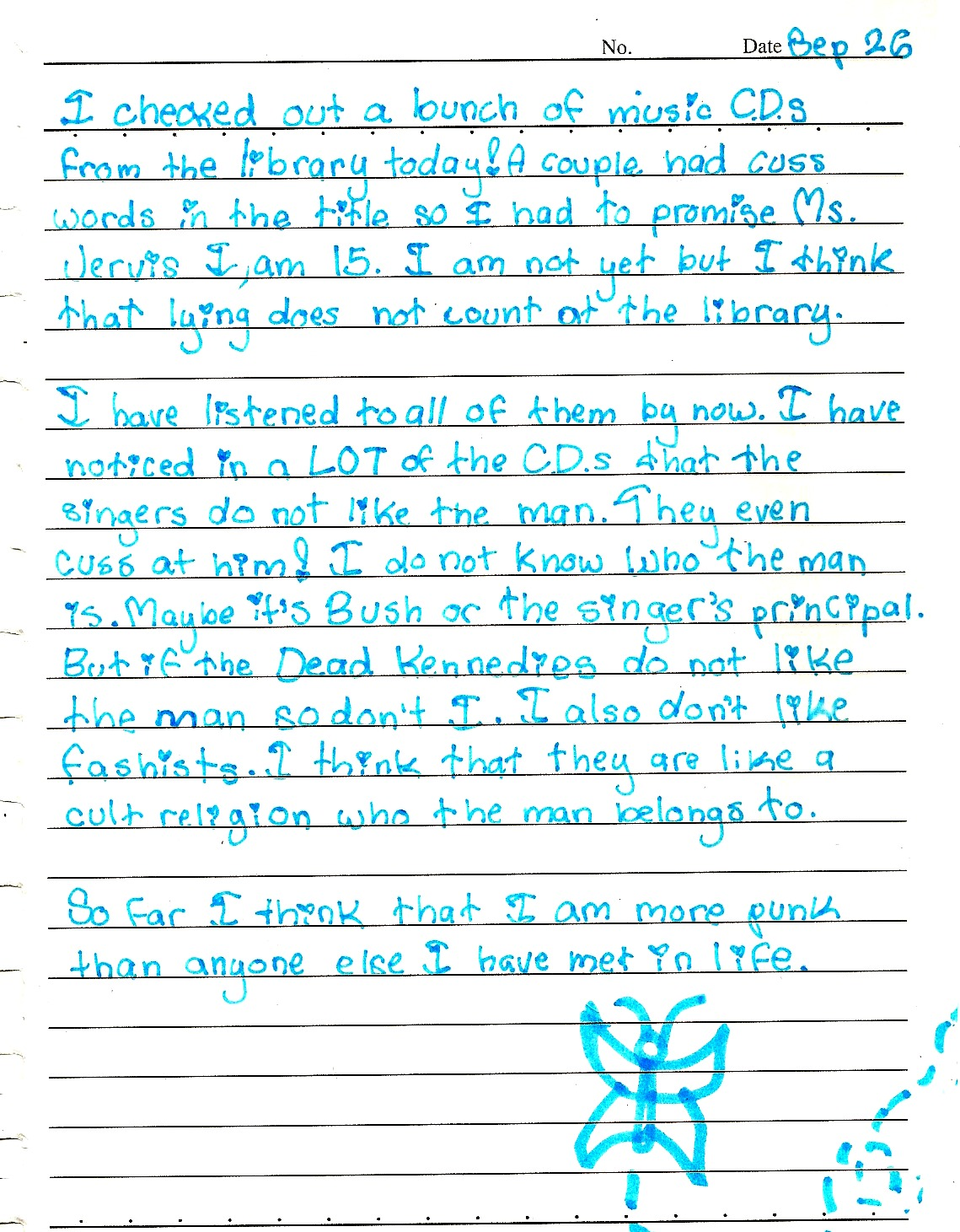 thisishangingrockcomics :     actual diary entry from when i was in 5th grade oh my god