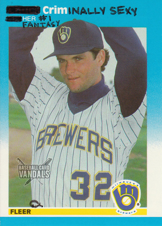 baseballcardvandals :     he actually might be prosecuted.