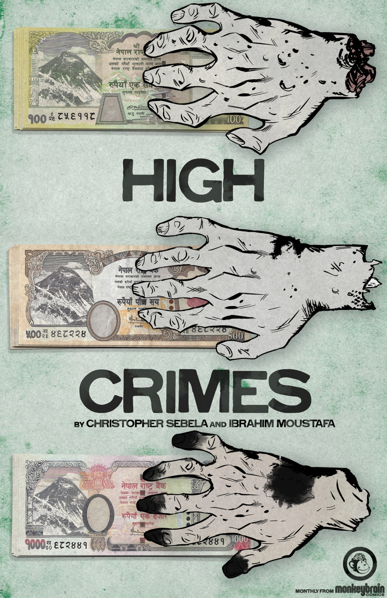 3 Days.    (High Crimes salute to  Brian Churilla  for providing an amazing last-minute severed hand at 11pm on a Saturday night without even asking why)