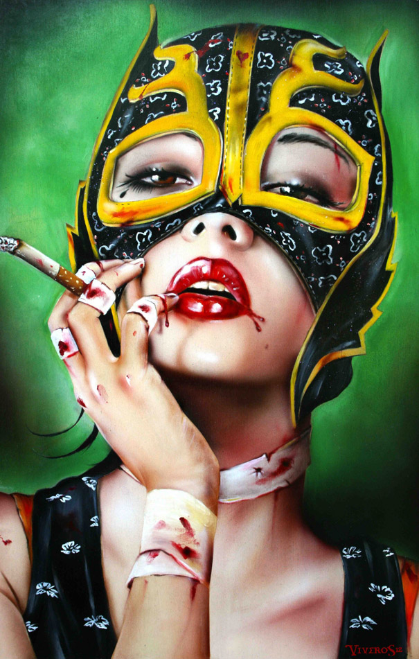Many Faces - Brian Viveros