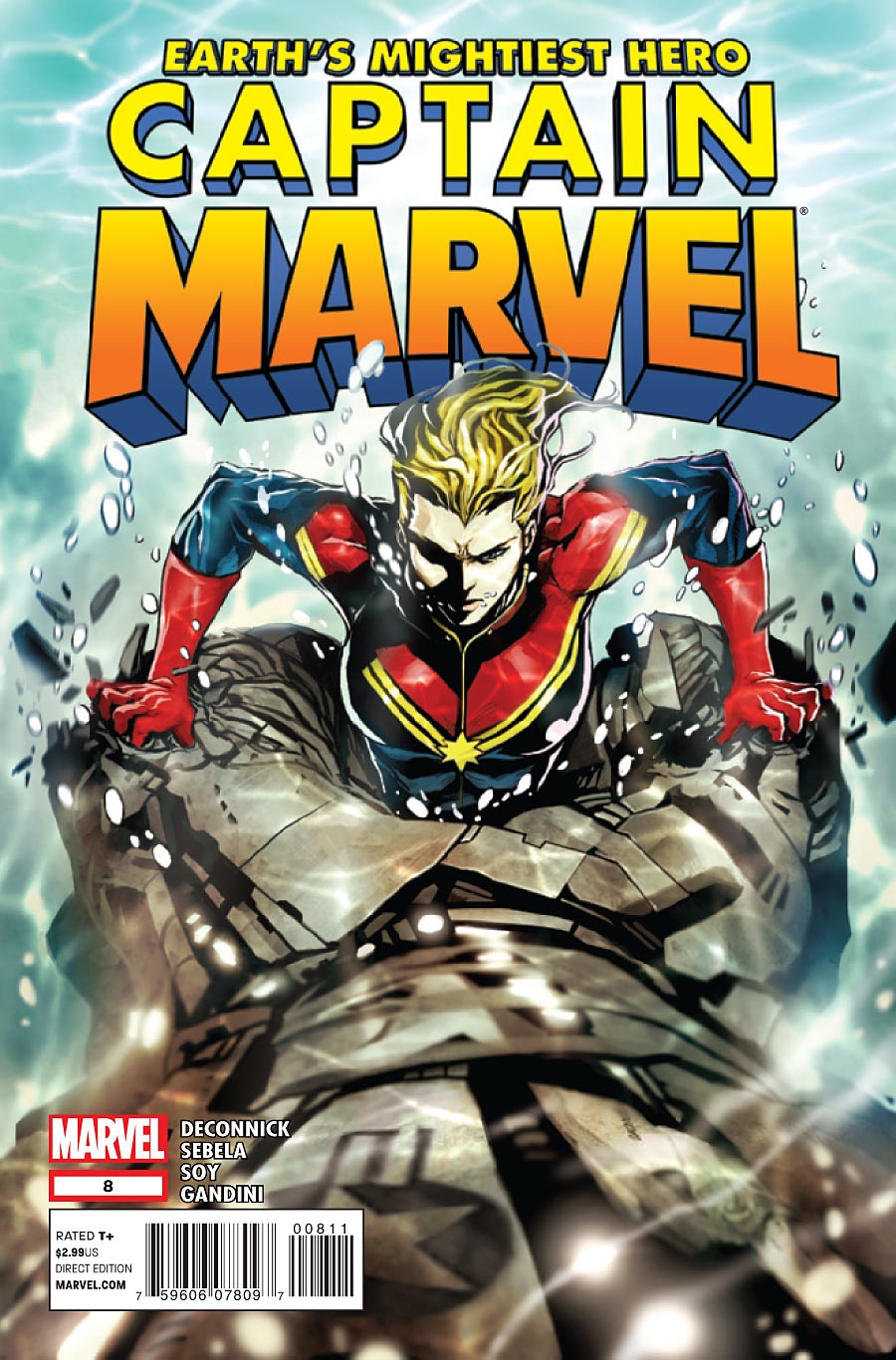 My second issue co-writing CAPTAIN MARVEL is out today. Lots of robotic smashing and smashing of robots going on. Hope you dig it, I had fun/sleeplessness/crippling self-doubt working on it, but I think it came out pretty great.
