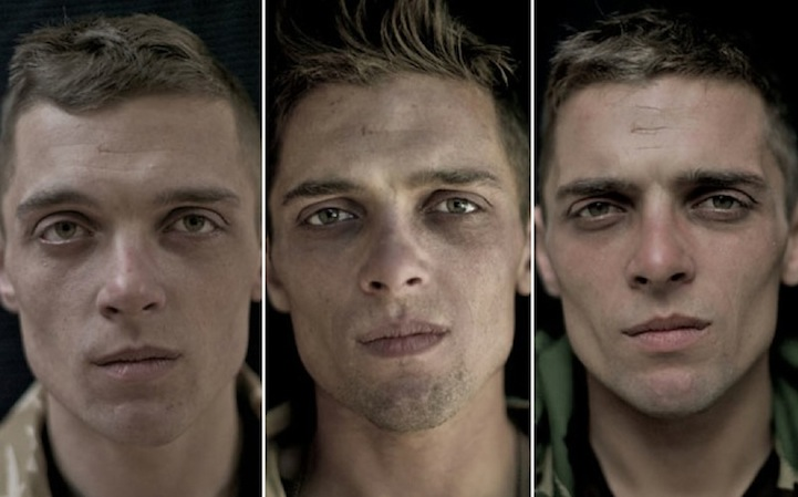 WE ARE THE NOT DEAD  - Lalage Snow's portraits of British soldiers before, during and after the war.