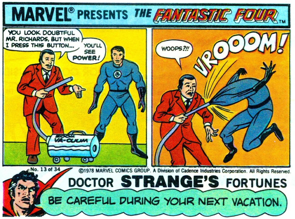 mattasticfour: Dr. Strange is a creep via
