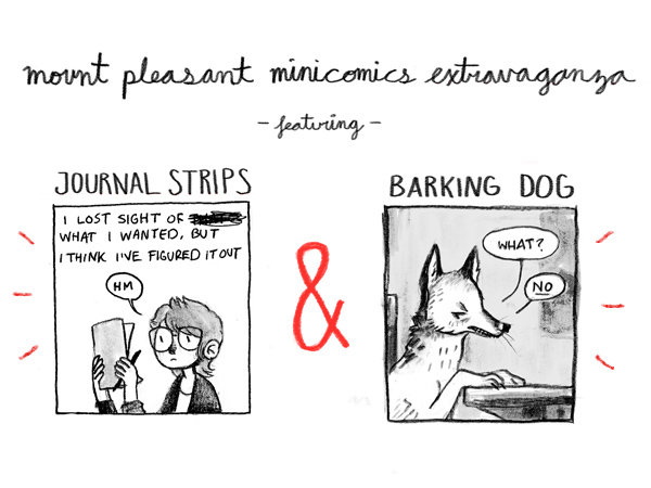 mountpleasantcomics :     do you want to read minicomics by me? I know that some of you do because you've told me, and I like to assume that more people do just because.    I've set up a  SUPER AWESOME INDIEGOGO CAMPAIGN  to get some things printed, those things being two minicomics and a  Patron Saint of Ugh  print. go check it out, claim some awesome rewards, or just reblog, tweet, etc.   I love you.     I gave and I am poor as shit. You should give too.