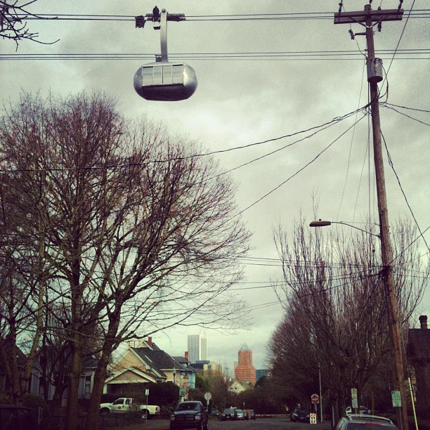 owlsandwhiskeysours :     Home sweet home.     Pill Hill expressway