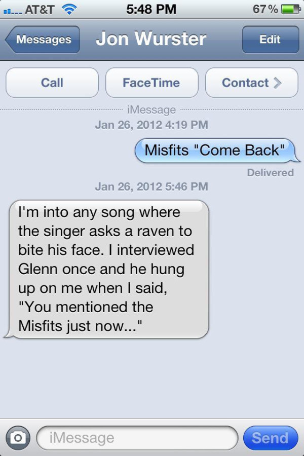 "@robinmccauley 's new iPhone-based series ""Asking Jon Wurster About Songs"" has launched. Here is today's installment."