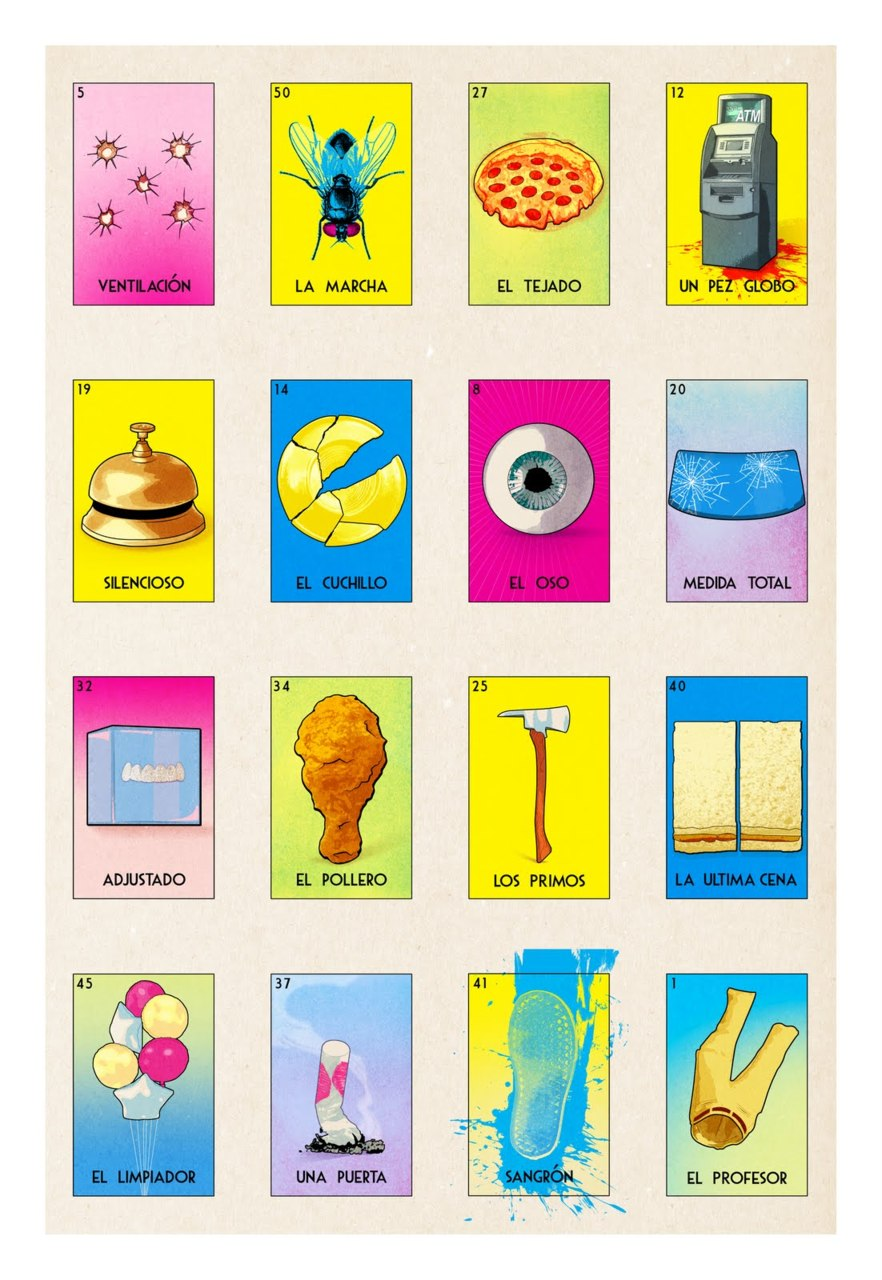 Breaking Bad Loteria Cards by  Michael Lapinski