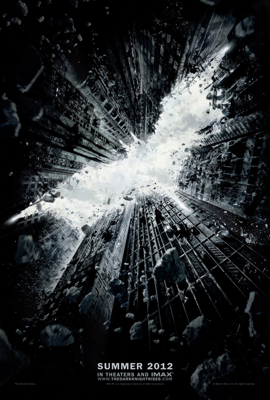 andykhouri: The Dark Knight Rises Teaser Poster Rises. High-res version at ComicsAlliance. Hells Yes