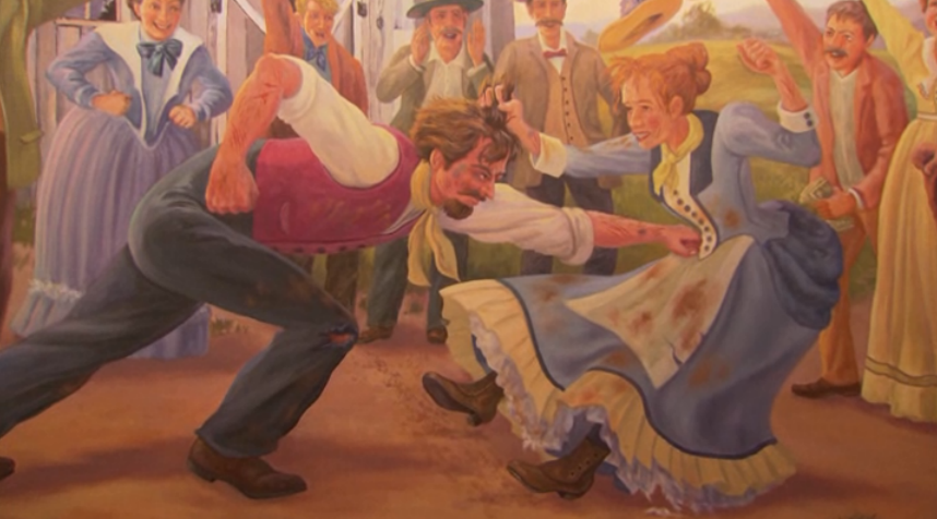 """danielleh :     Pawnee      """" A Lively Fisting """""""