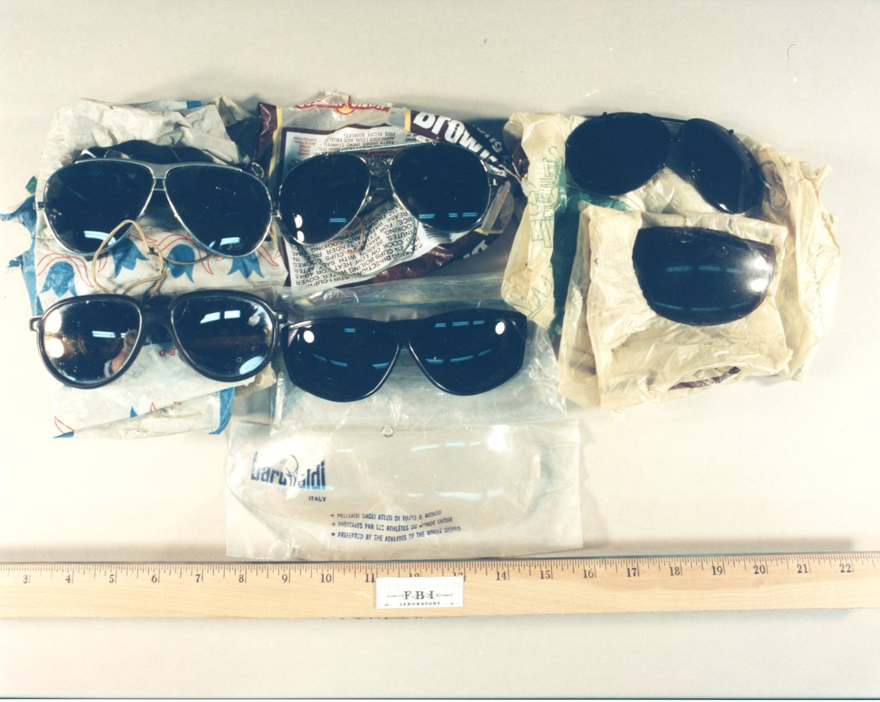 "This photo, released by the U.S. Marshals Service, displays one of the lots being sold in an online auction of the personal effects of Ted Kaczynski, aka the ""Unabomber."" The U.S. Marshals auction will run from May 18 through June 2. Proceeds from the auction will be used to compensate Kaczynski's victims."