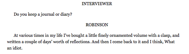 diana-vilibert :     Marilynne Robinson,   The Paris Review
