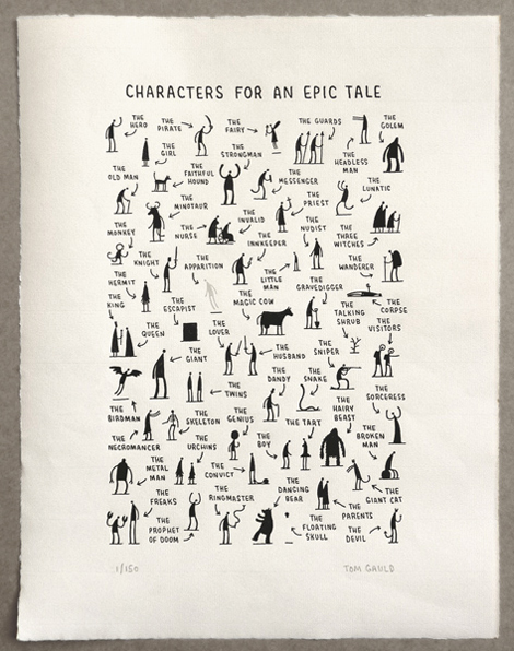 danielleh :      We Made This: Characters for an Epic Tale