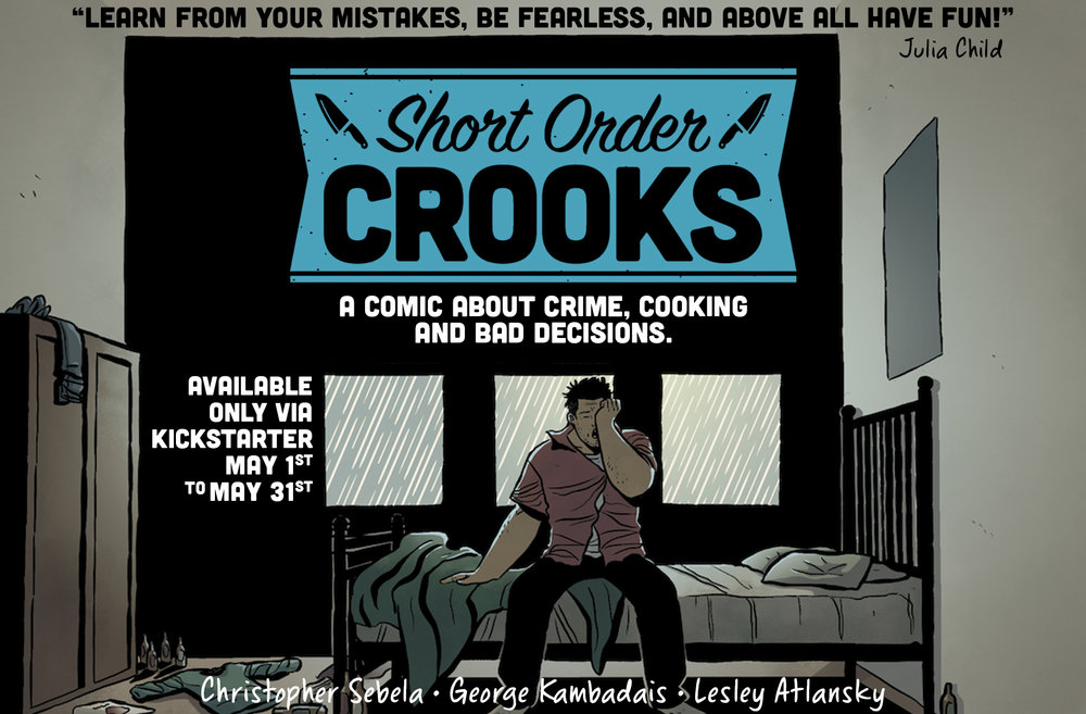 Short Order Crooks teaser C