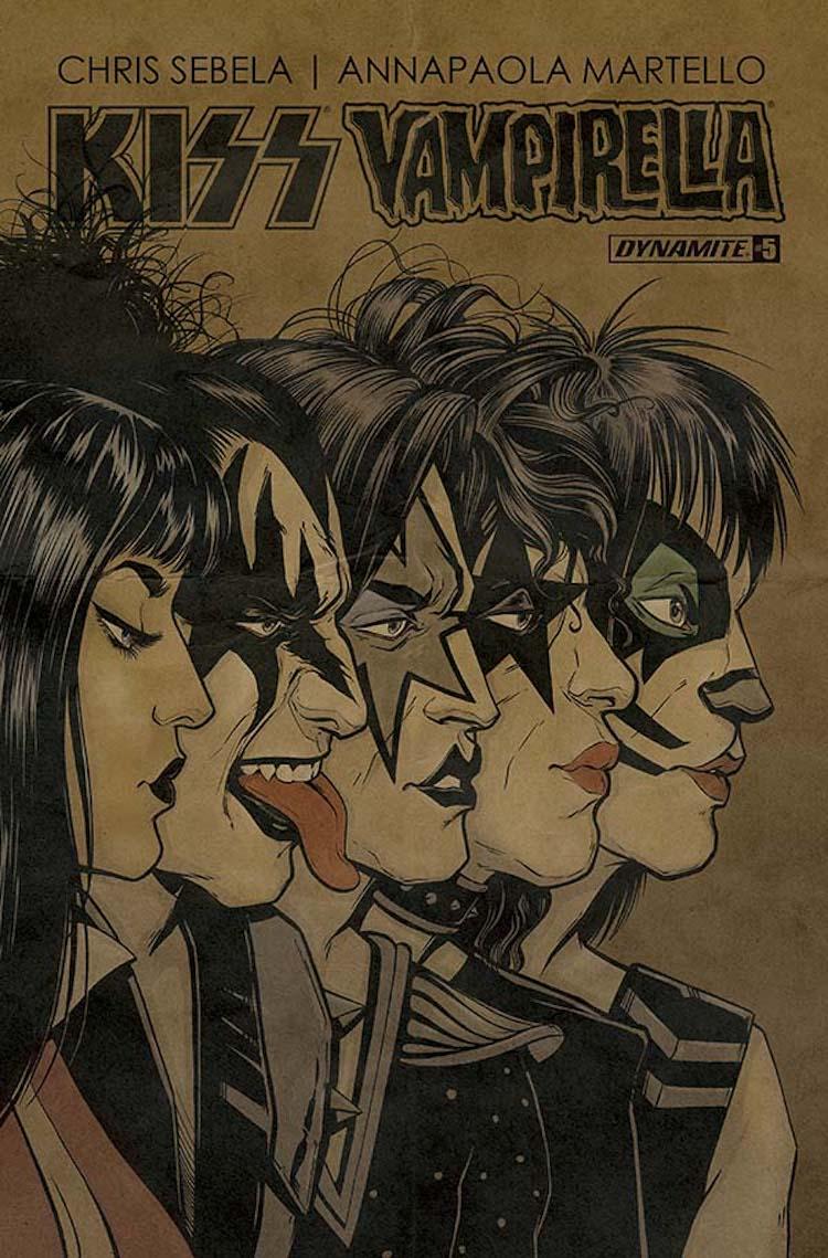 Kiss Vampirella #5