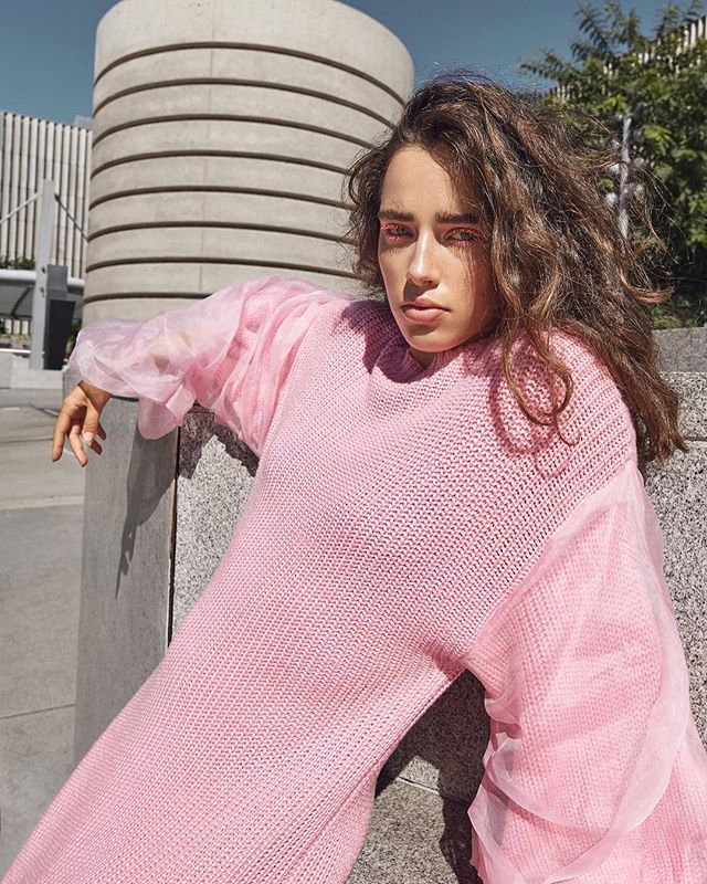ROBIN ❤️ Photo by me @a_ophoto Model @robinvanhalteren Stylist @malinagirl16 HMUA @maddienorthmakeup Wardrobe @annakikiofficial . . . #fashionphotographer #photographer #editorial #magazine #designer #streetstyle #pinkdress #bigsleeves #mua #glossier #messyhair #cityscapes