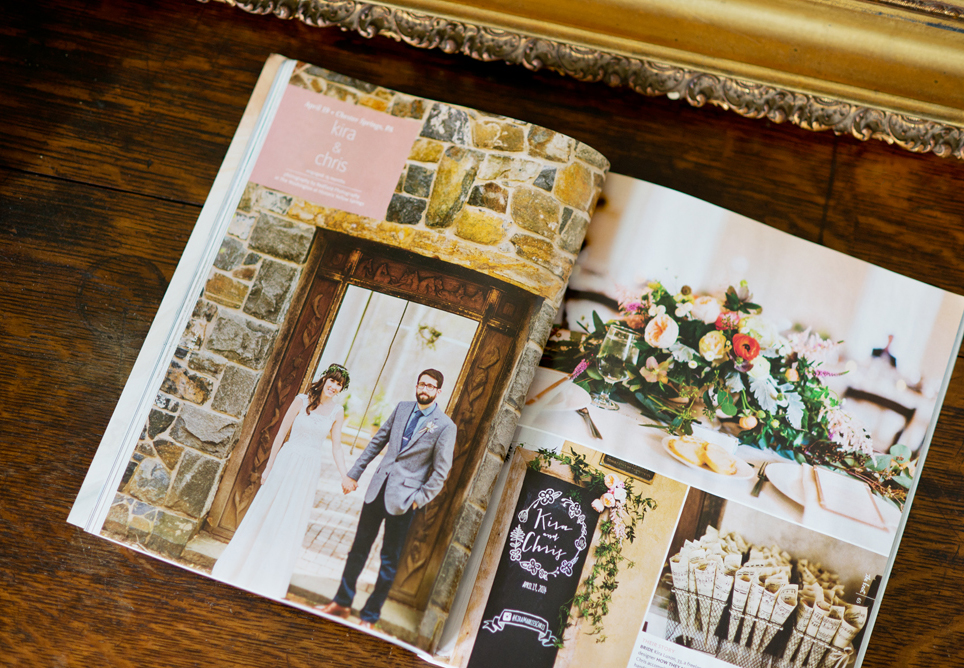 The Fall/Winter 2015 edition of the The Knot Pennsylvania & Delaware