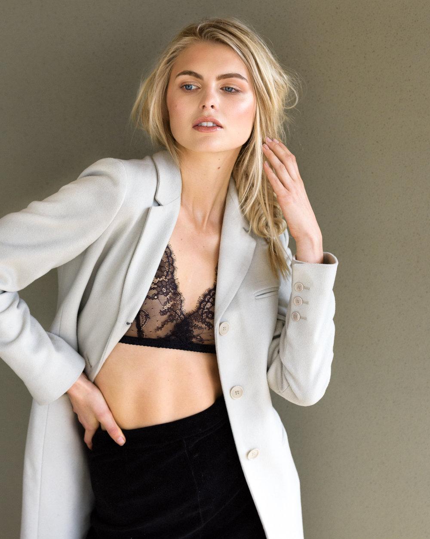 Mel Oldenburg - Photography: Dave Blake; Model Agency: Viviens, Elite Milan; Hair-makeup: Hope O'Connor