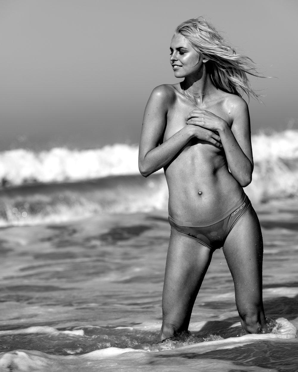 Melanie Oldenburg model with Dave Blake: daveblake.com.au