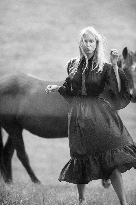 Test shoot | Kate wearing Mahsa (NZ)