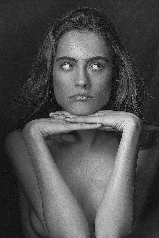 Charlotte; Raw. - Model CHARLOTTE COQUELINE @ IMG MODELS; Photographs DAVE BLAKE; Hair Makeup SIMONE FORTE | Location: Sydney, Australia.