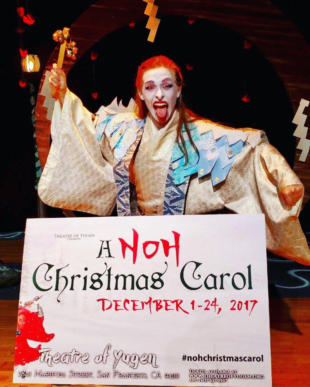A Noh Christmas Carol, 2017