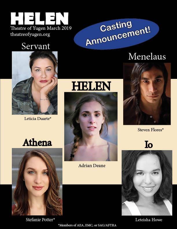 Helen Cast Announcement