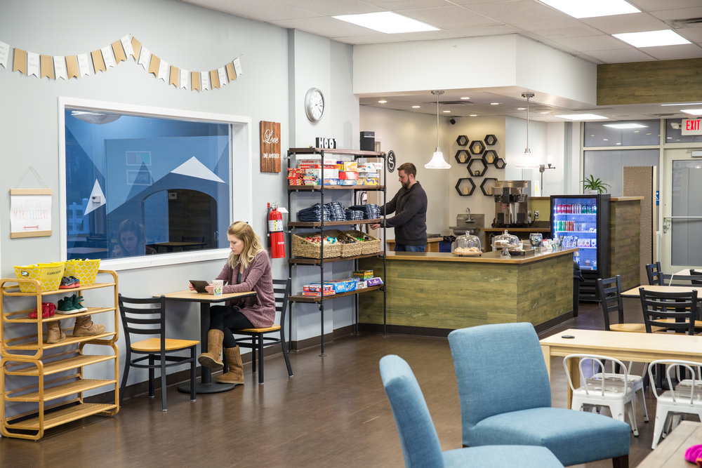 Café area - Come in for a play date with friends, or take necessary time for you while the kid(s) enjoy the supervised play. FREE WIFI